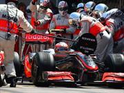 F1: McLaren busca el súper pit stop