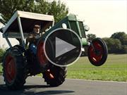 Video: un tractor con alma de Hot Rod
