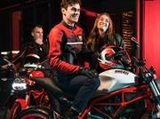 Ducati lanza en Chile su linea de productos 2017