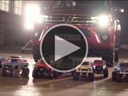 ¿Pueden 15 autos de radio control remolcar un pickup?