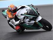 ¿Qué se siente manejar una moto de carreras eléctrica?