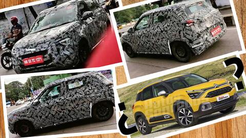 Nuevo Citroën C3 se filtra en Brasil e India