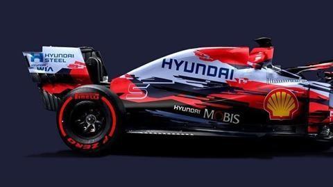 ¿Cómo se vería el monoplaza de F1 de Hyundai?