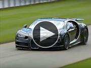 Video: El Bugatti Chiron en acción