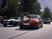 Un Peugeot 308 GTi vs los autos norteamericanos