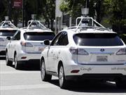 Vehículos autónomos involucrados en accidentes en California