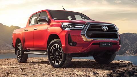 La nueva Toyota Hilux ya está cerquita de Chile