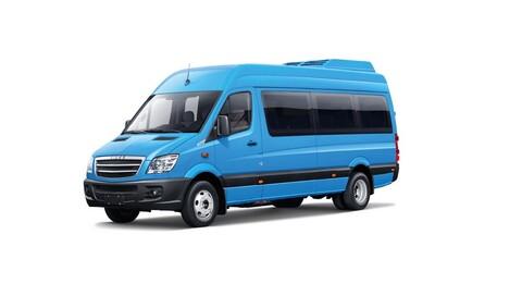 Higer Paradise 2022 es el primer minibus eléctrico de pasajeros en Chile