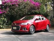 Chevrolet Sonic 2017 a prueba