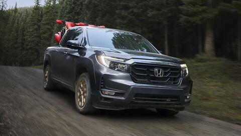 Honda Ridgeline 2021 se presenta