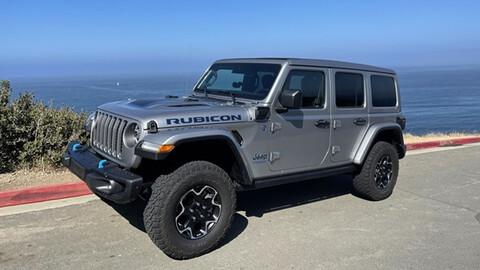 Primer contacto con el Jeep Wrangler 4xe 2022