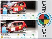 Latin NCAP: Volkswagen up! obtiene 5 estrellas en pruebas de impacto