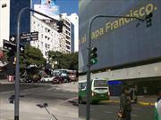 Los semáforos de la Ciudad de Buenos Aires cambian de color