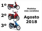 Top 10: Los modelos de motos más vendidos en el mes de agosto de 2018