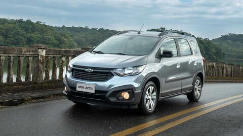 Chevrolet Spin mejora su equipamiento de seguridad