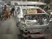 Chevrolet Cruze termina su producción este miércoles en Ohio