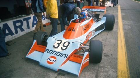 F1: La única vez que Gulf decoró por completo un monoplaza de la Máxima