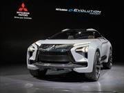 Mitsubishi e-Evolution Concept, rompiendo el molde