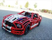 Mustang Shelby con bloques de LEGO