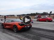 Video: Ferrari F12berlinetta vs McLaren 720S se enfrentan en un pique