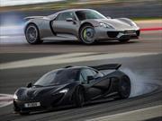 El Porsche 918 Spyder es más rápido que McLaren P1