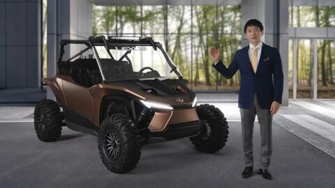 Este UTV funciona con celdas de hidrógeno y tiene el estilo Lexus