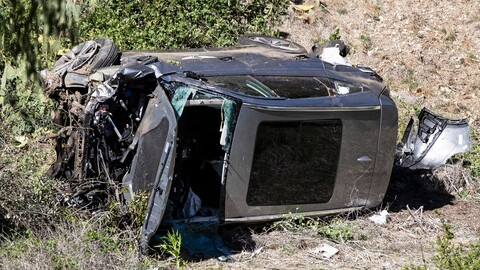 ¿Qué camioneta es la del accidente de Tiger Woods?