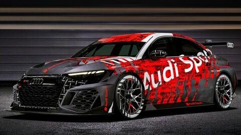 Audi RS 3 LMS: un auto de carreras perfeccionado en su totalidad