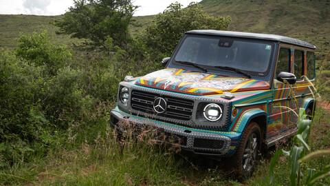 Mercedes-Benz Clase G transformado en una espectacular artesanía mexicana
