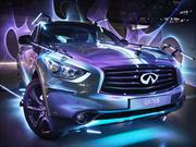 Infiniti Inspired Light ilumina Arabia Saudita