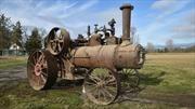 Este viejo tractor es el más caro