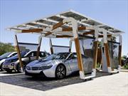 BMW crea un sofisticado estacionamiento con celdas solares