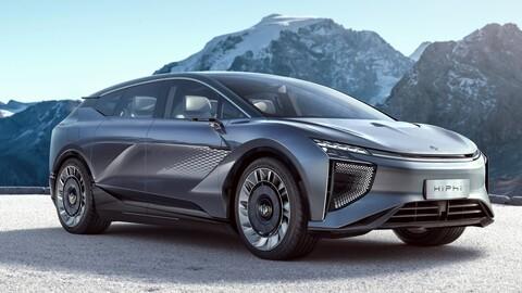 Human Horizons HiPhi 1 es una SUV eléctrica con un nivel de tecnología nunca antes visto