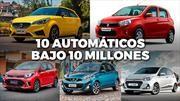 Top 10: los autos con caja automática bajo 10 millones de pesos