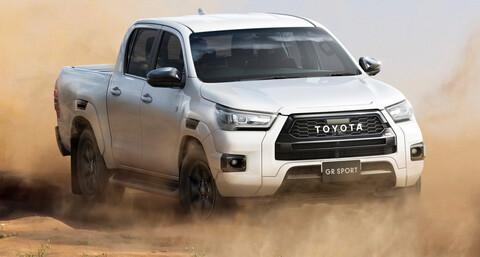 Toyota Hilux GR Sport presenta un rediseño más antes de su llegada a Argentina