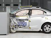 Chevrolet Sonic 2015 calificado como Top Safety Pick por el IIHS