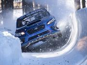 Subaru transforma su WRX STi en un bobsled