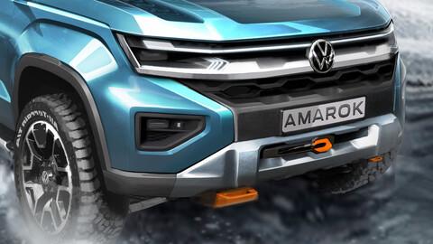 Nueva VW Amarok II la imagen de la nueva pickup