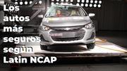 ¿Cuáles son los autos más seguros según Latin NCAP?
