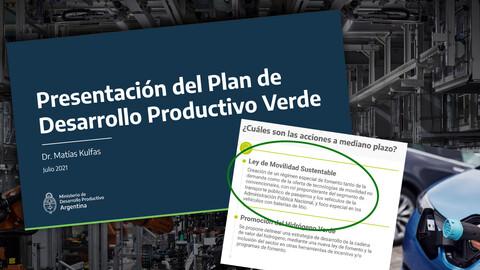 Argentina presenta un plan para producir autos eléctricos
