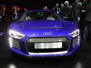 Audi R8 e-tron piloted driving concept presente en el CES Asia 2015