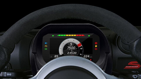 Lotus estrena un tablero digital removible
