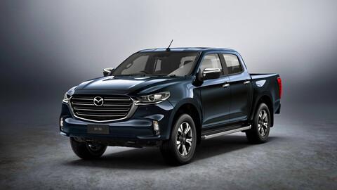 Así es la nueva Mazda BT-50 2021