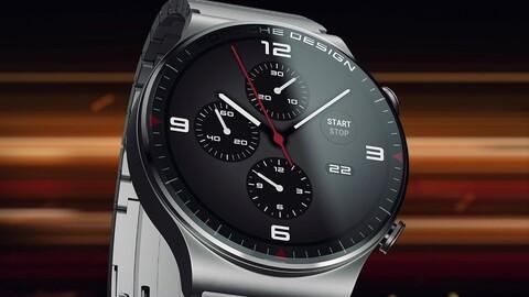 Porsche Design y Huawei desarrollaron un reloj con mucha tecnología