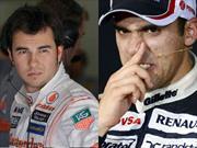 F1 Checo Perez y Pastor Maldonado aún sin butacas para 2014