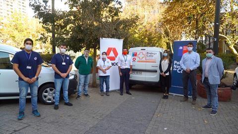 Derco apoya el Plan de Invierno del Ministerio de Desarrollo Social y Familia con 10 vehículos