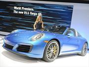 Porsche 911 Targa 4 y 4S 2017, deportividad garantizada