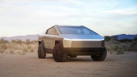 Tesla Cybertruck, la pickup eléctrica de Elon Musk mejora su diseño