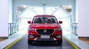 MG Motors ya produce el nuevo HS para exportación