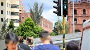 Llegan a Bogotá los semáforos con contadores regresivos